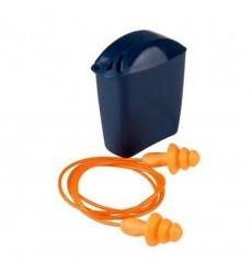 3M Reusable Earplugs -with Plastic Cord & Storage Case
