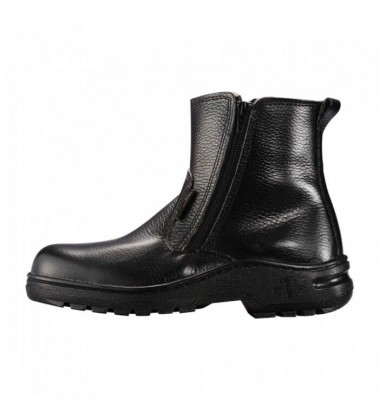 BLACK HAMMER Safety Shoe - Mid Cut & Zip On Safety Shoes