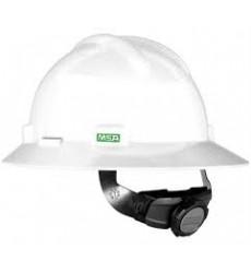 MSA USA V-GARD Full Brim Hat with Fastrac Suspension